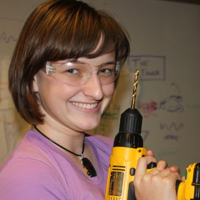 Me with my handy cordless drill