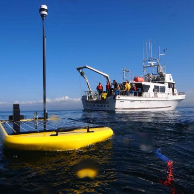 Navigation Code for Unmanned WaveGlider Drones